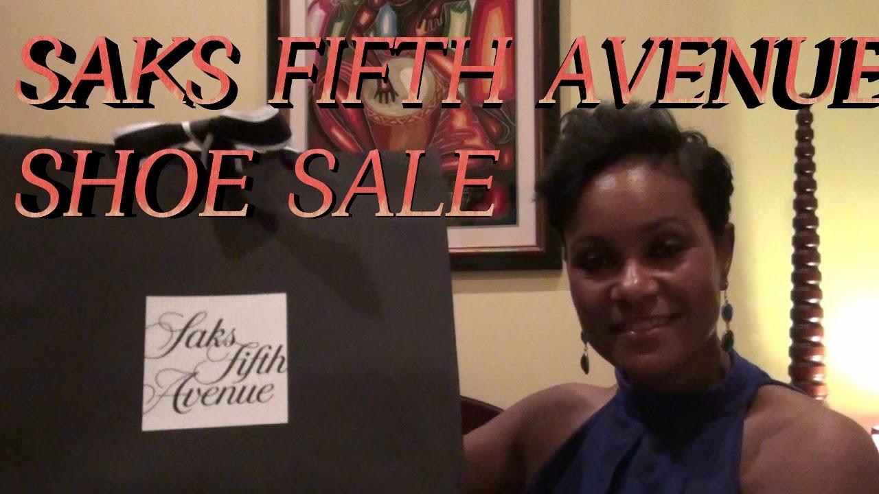Saks Designer Shoe Sale