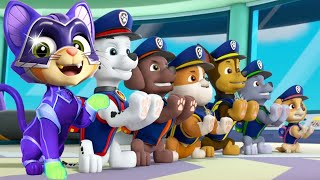 PAW Patrol Mighty Pups Charged Up - All Mighty Pups On A Run - Nick Jr HD