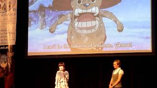 Animania Sydney 2011 - Ikue Otani One Piece Chopper Live dub pt 2