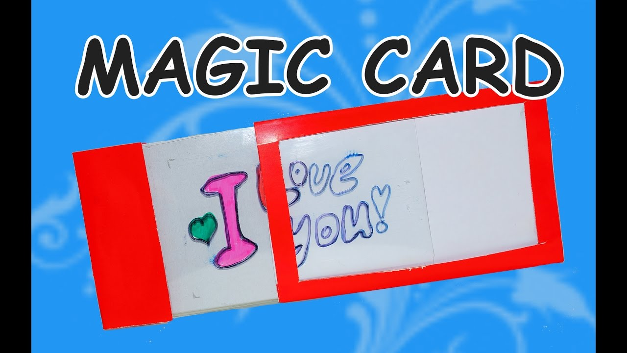 DIY Craft Ideas Card How To Make Magic Beauty And Easy