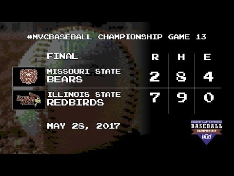 #MVCBaseball Highlights: Missouri State vs Illinois State