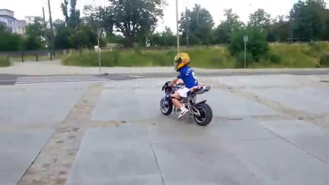 Super Midi Bike 50 ccm pocket bike - YouTube SB-38