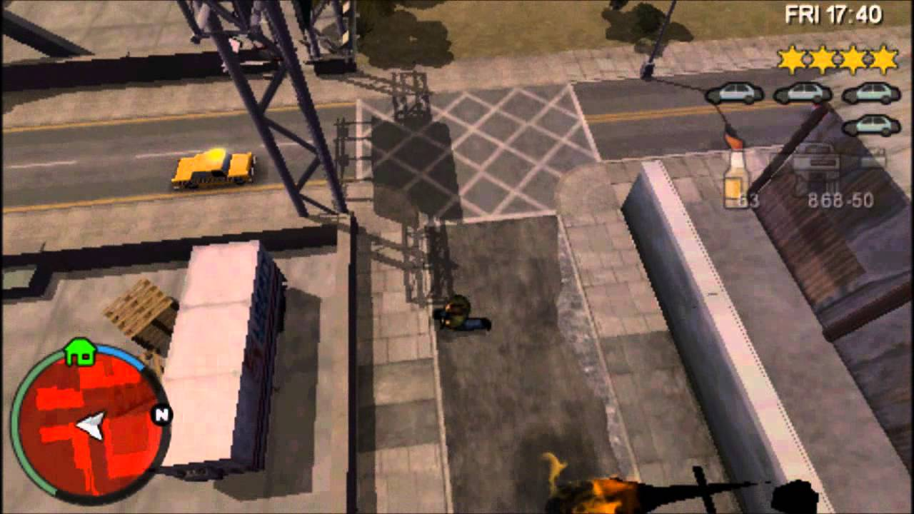 Grand Theft Auto Chinatown Wars (PSP) gameplay