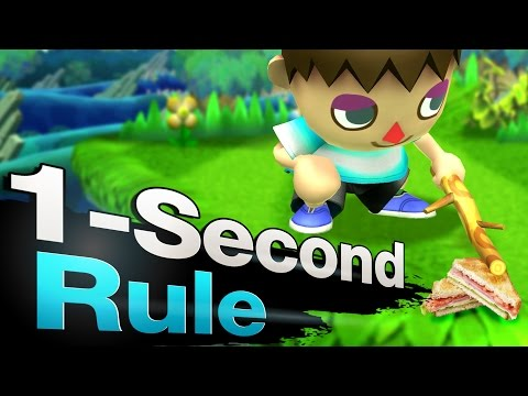 Smash 4 Wii U - The One-Second Rule
