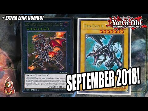 Yu-Gi-Oh! THE BEST! RED-EYES DECK PROFILE! INSANE EXTRA LINK COMBO! SEPTEMBER 17, 2018 BANLIST!