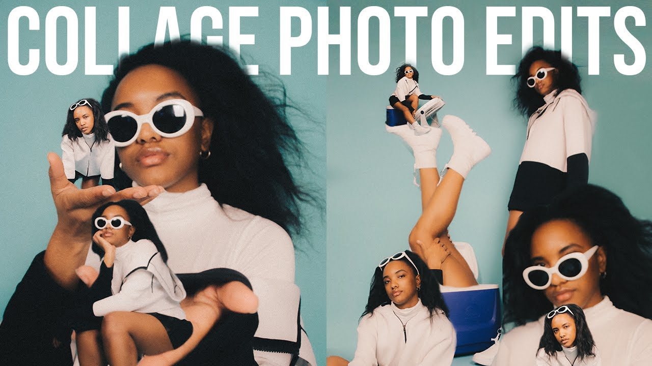 How To Create *DOPE AF* Collage Photo Edits!