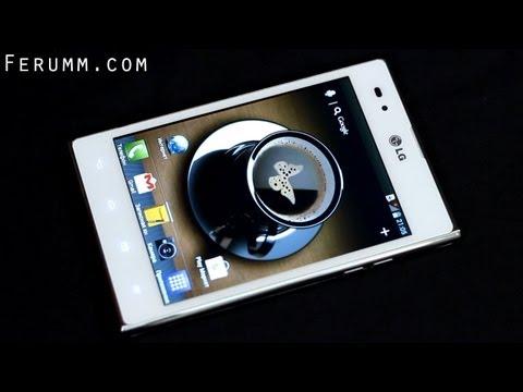 Подробный видеообзор LG Optimus Vu (P895) от сайта Ferumm.com