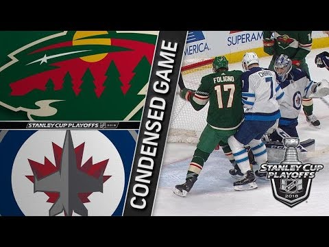 Winnipeg Jets vs Minnesota Wild R1, Gm3 apr 15, 2018 HIGHLIGHTS HD