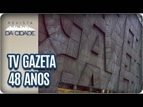 TV Gazeta 48 Anos | Programas E Histórias Da TV - Revista Da Cidade (25/01/18)