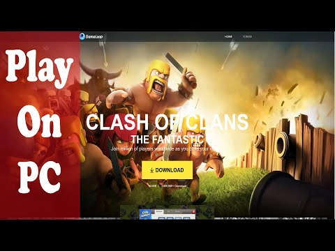 Play Clash Of Clans For Pc On Gameloop Without Bluestacks 2020