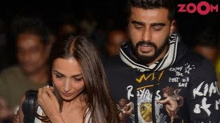 Arjun and Malaika's romance is now out in the open! | Bollywood News