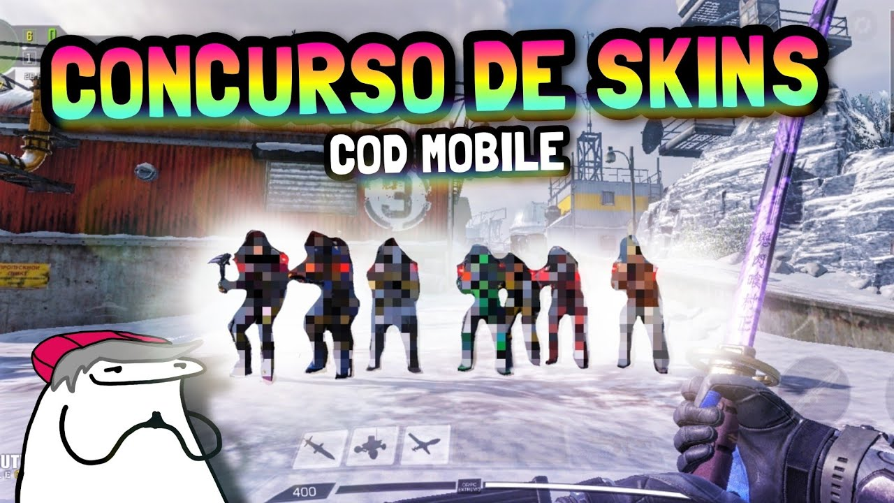 Hice un concurso de MODA en Call of Duty Mobile