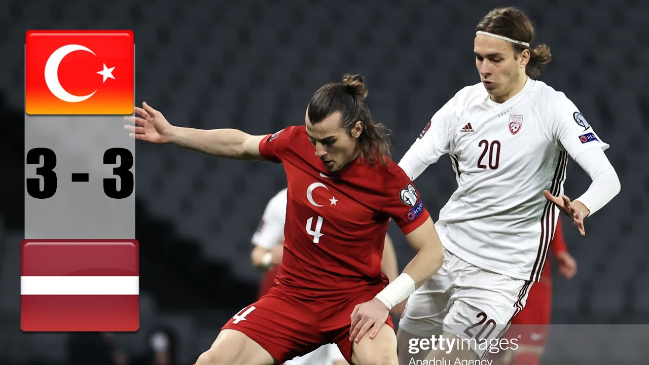 Turkey vs Latvia 3-3 All Goals & Highlights 30/03/2021 HD - YouTube