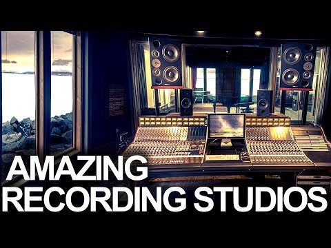 MOST INSPIRATIONAL RECORDING STUDIOS