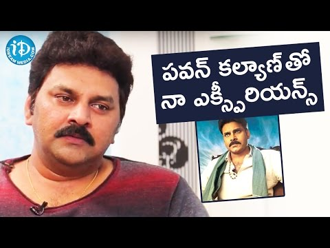 Sameer About His Work Experience With Pawan Kalyan    Soap Stars With Harshini