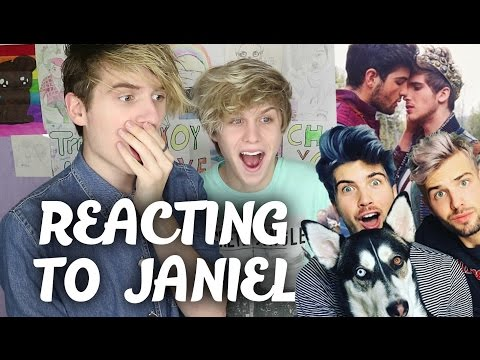 GAYS REACT TO JANIEL  (Joey Graceffa & Daniel Preda)