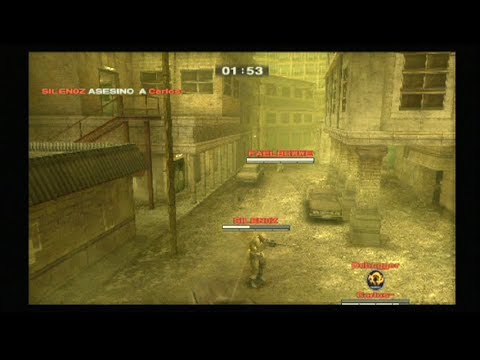 Metal Gear Solid 3: Subsistence PS2 Online   Espectador   3-dic-17