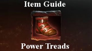 Dota 2 Item Guides: Power Treads (6.84c)-Minor Changes