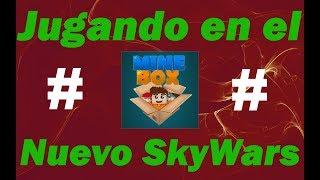 EL NUEVO SKYWARS DE MINEBOX NETWORK !! || MINECRAFT 1.8 SKYWARS SERVER
