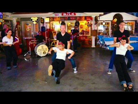 The Altar Billies - Hot (Swing Dancing, Rockabilly, Vintage Cars, Gretsch Guitars)