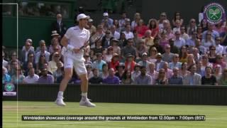 How Murray beat Raonic
