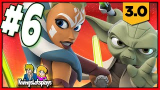 Disney Infinity 3.0 - STAR WARS Part 6 (YODA Gameplay) Twilight of the Republic Play Set