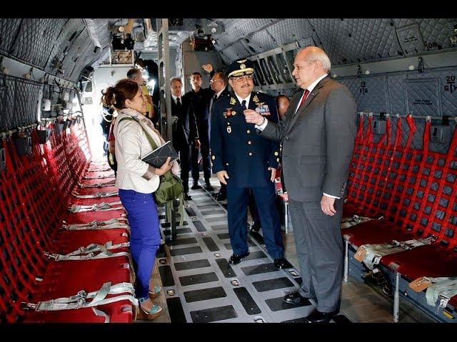 Adquisición de dos modernos aviones de transporte C-27J a Italia