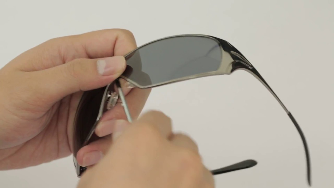 7b4d3df08 Oakley Dart Sunglasses Lenses Replacement(Installation/Removal ...