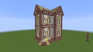 Minecraft Tutorial Como Fazer uma Casa Simples 15