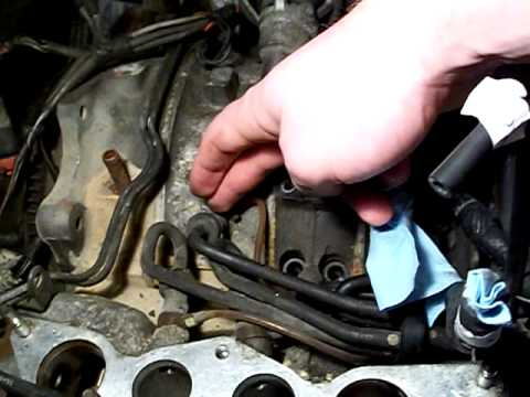 Mazda Rx7 13b Engine Oil Metering Pump Removal Youtube