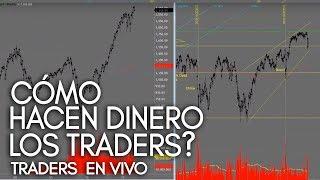 Como Hacen Dinero Los Traders - $7217.50 En Vivo!!