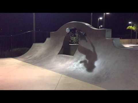 Sierra Kerr Skateboarding girl age 7. Josh Kerr daughter skateboarding