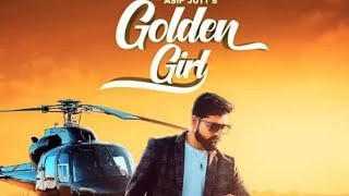 Golden girl status song || Asif Jutt New song 2020 || status Golden girl white Hill music