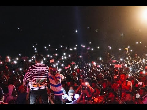 Mayor Of lagos in Ibadan concert: Mayorkun shocks the crowd with Davido,Small Doctor.