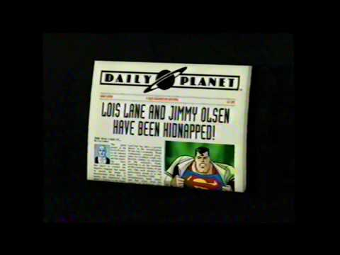 Superman The New Adventures Nintendo 64 N64 Video Game Commercial