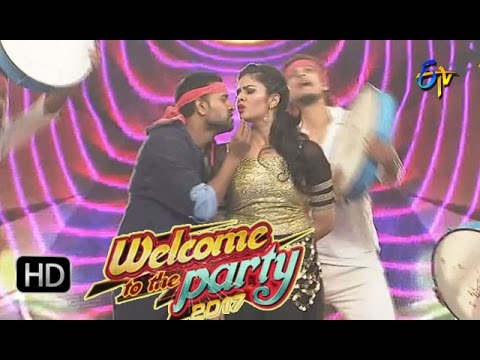 Jani Master  Performance | ETV New Year Special Event 2017 | Welcome To The Party | 31st Dec'16