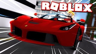 In today's ROBLOX video I buy my first SUPERCAR in Roblox Vehicle S...