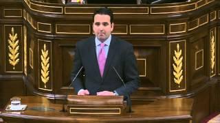 Jesús Alli (Diputado por Navarra) en el debate de investidura