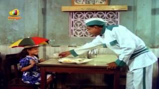 Download Hindi Video Songs - Sindhoora Devi Movie Scenes - Baby Shamili ordering food at a hotel - Vivek, Kanaka