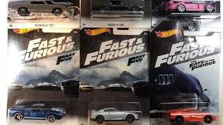 2018 Fast and Furious Hot Wheels US Walmart