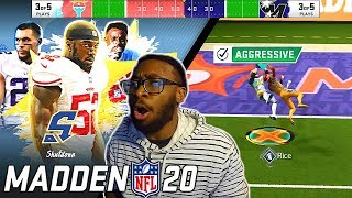JERRY RICE IS UNSTOPPABLE! Madden 20 Superstar KO Gameplay