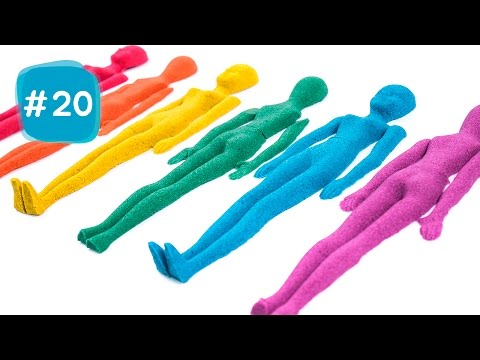 Thumbnail: Kinetic Sand Colors Human Toy DIY Learn Colors IceCream #20 - By MagicPang