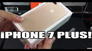 Gold iPhone 7 Plus 256GB Unboxing!