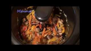 Полбяной плов с грибами в мультиварке KitchenAid
