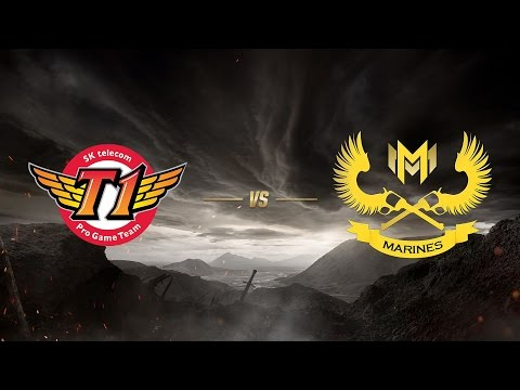 SK telecom T1 ( SKT ) vs GIGABYTE Marines ( GAM ) | MSI 2017 Grup Aşaması 1. Gün