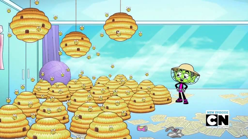 Teen Titans Go Season 2 Episode 37 Two Bumble Bees And A -3720