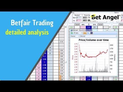 Peter Webb - Bet Angel - Detailed Betfair Trading Analysis