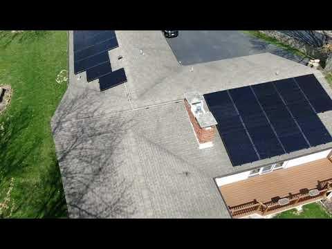 Solar Panel Installation at Jamestown, Ohio by Yellowlite  Pt 2 #solarenergy2020