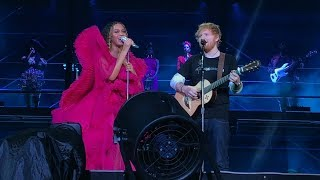 Beyoncé and Ed Sheeran - XO / Perfect  Global Citizens Festival Johannesburg, SA 12/2/2018 Video