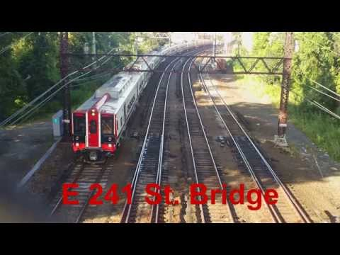Metro North Harlem / New Haven Line Railfanning at Wakefield Part 2